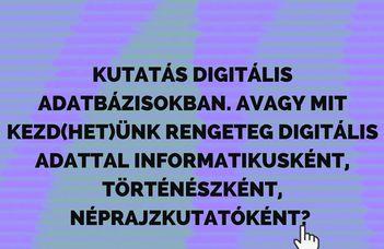 A népi kultúra örökségének digitalizációja 3.